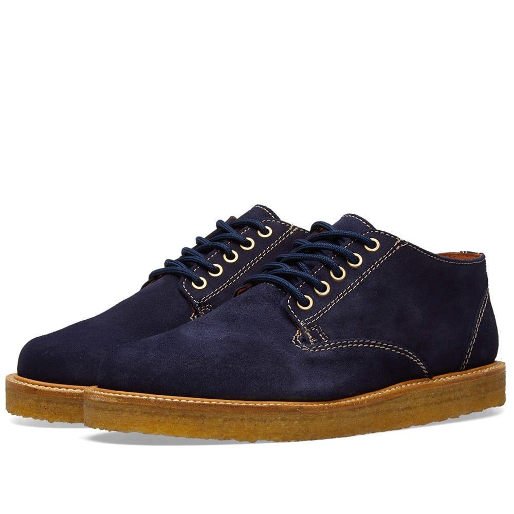 Wild Bunch Classic 5 Eyelet Shoe In Blue