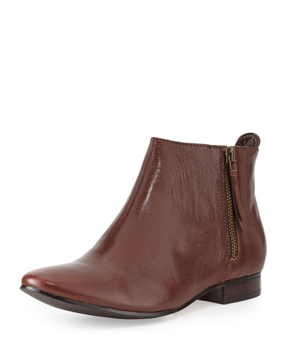 Cole Haan Elion Grand.Os Leather & Suede Bootie, Chestnut