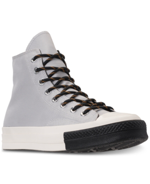 c2c7ae9f41dd Converse Men s Chuck Taylor 70 Trech Tech High Top Casual Sneakers From  Finish Line In Mouse