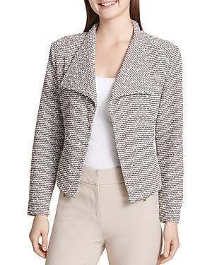 d43dbe6617 Calvin Klein Jacquard-Knit Flyaway Jacket
