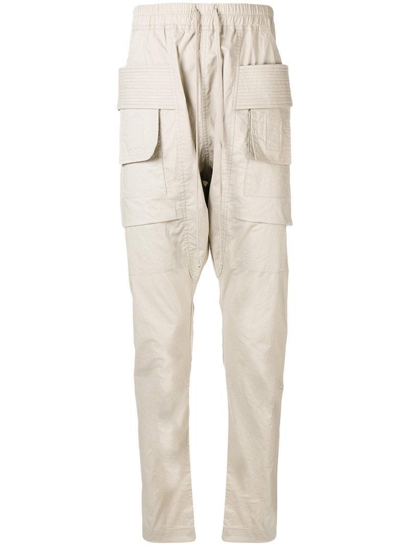 f41af22c0884 Rick Owens Drkshdw Cargo Trousers - Neutrals