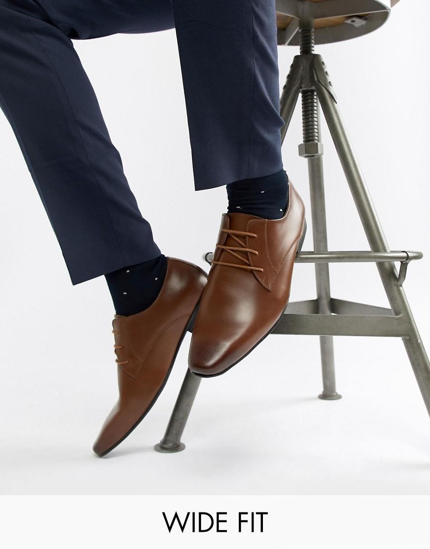 7b16e52bda4 Kg Kurt Geiger Kg By Kurt Geiger Wide Fit Kendal Lace Up Shoes - Tan ...