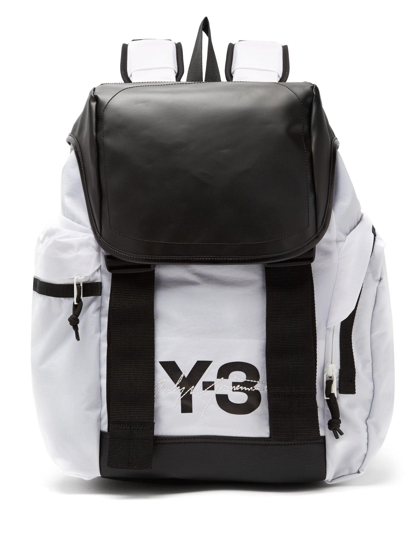 018acce3c944 Y-3 Mobility Backpack In White