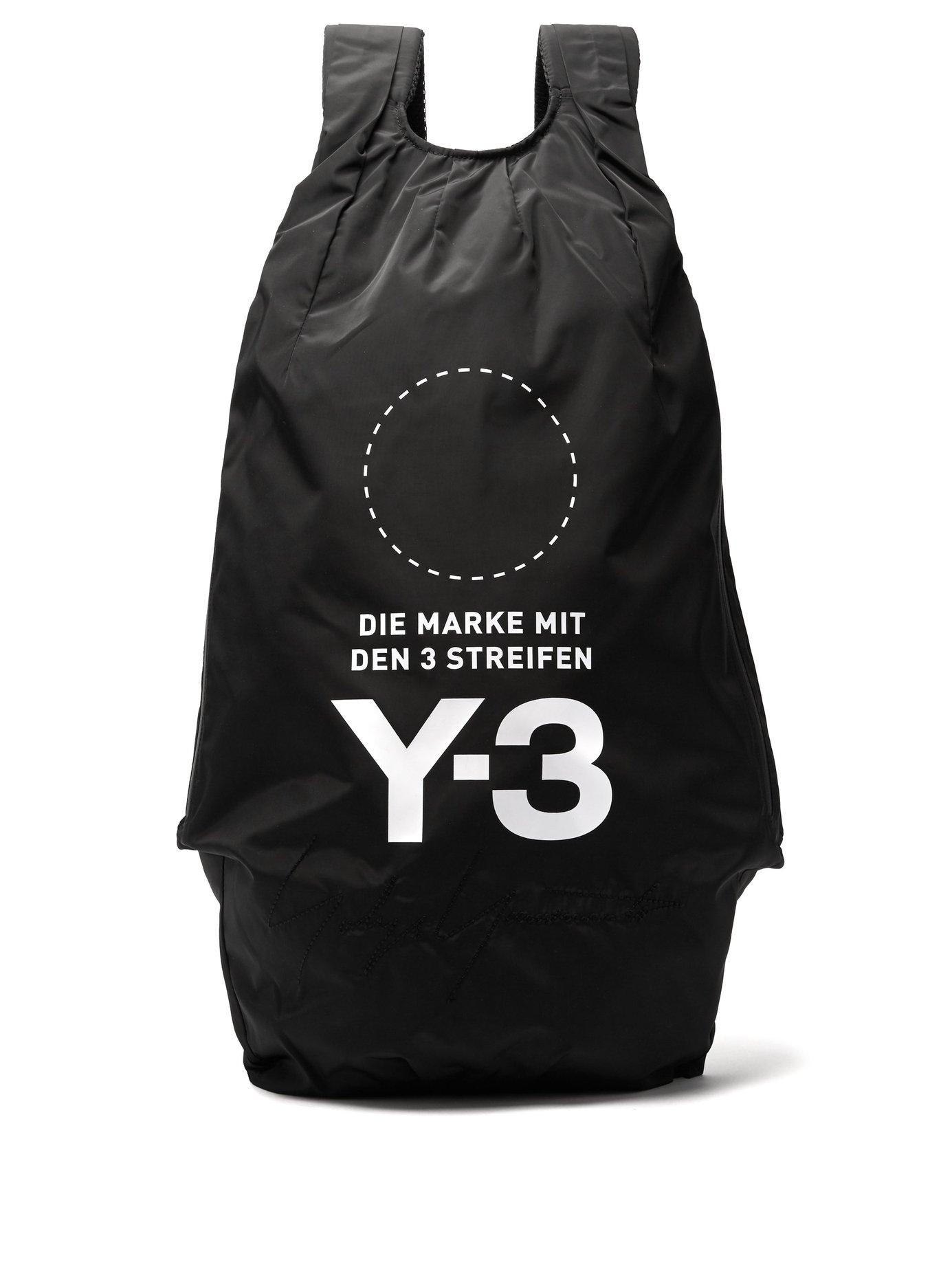 d9cc80e724 Y-3 Yohji Backpack In Black