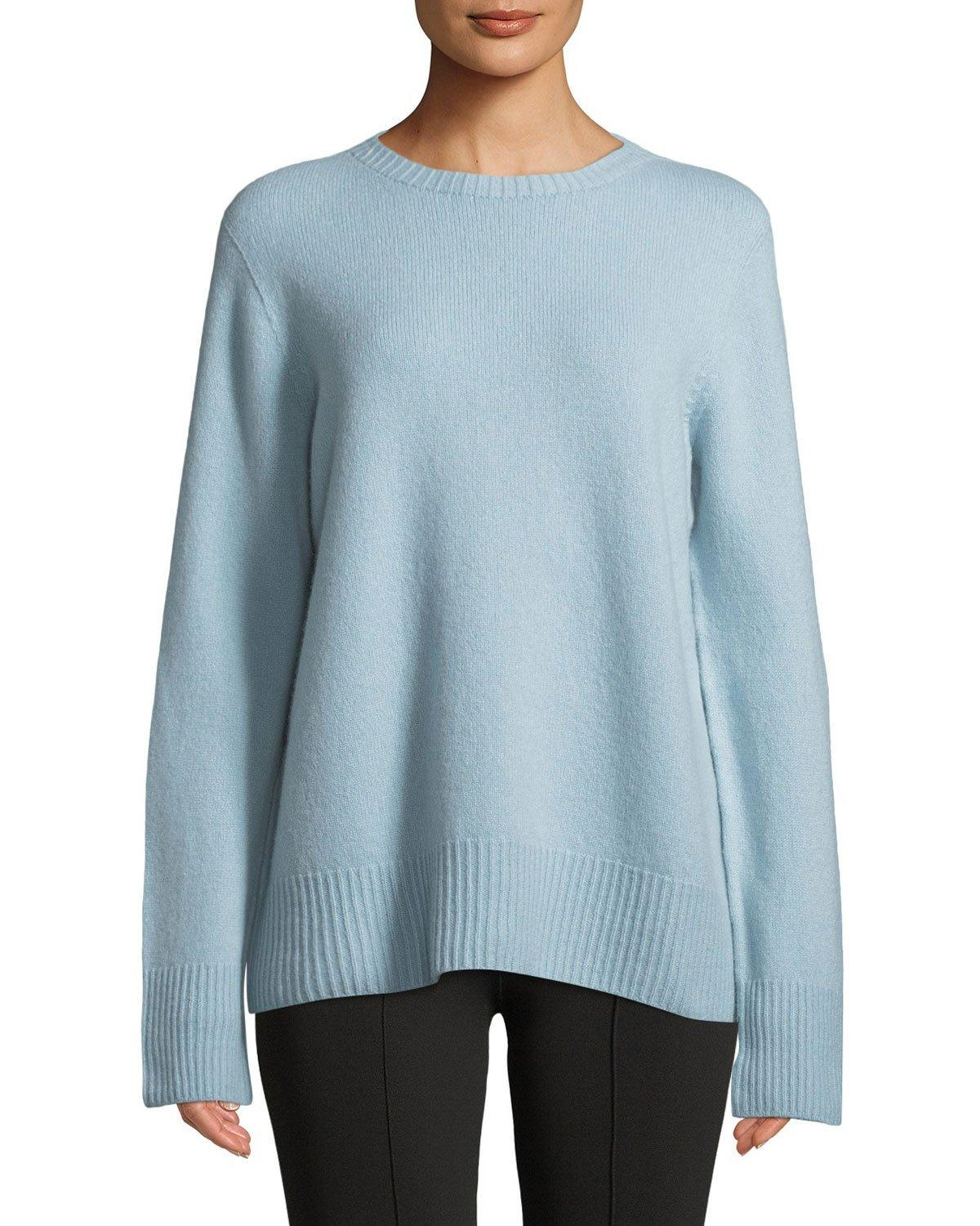 b2b0089964 The Row Sibel Oversized Wool And Cashmere-Blend Sweater In Black ...