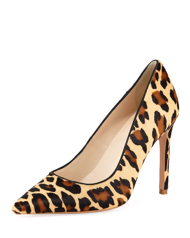 28a902fcb50d Sophia Webster Rio Leopard Animal-Print High-Heel Pumps In Natural Leopard