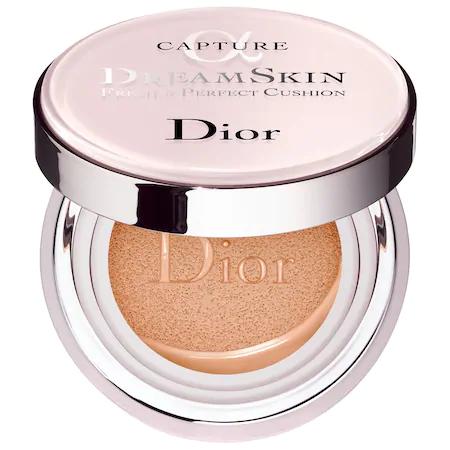 Dior Capture Dreamskin Fresh & Perfect Cushion Broad Spectrum Spf 50 010 Ivory 0.5 Oz/ 15 G