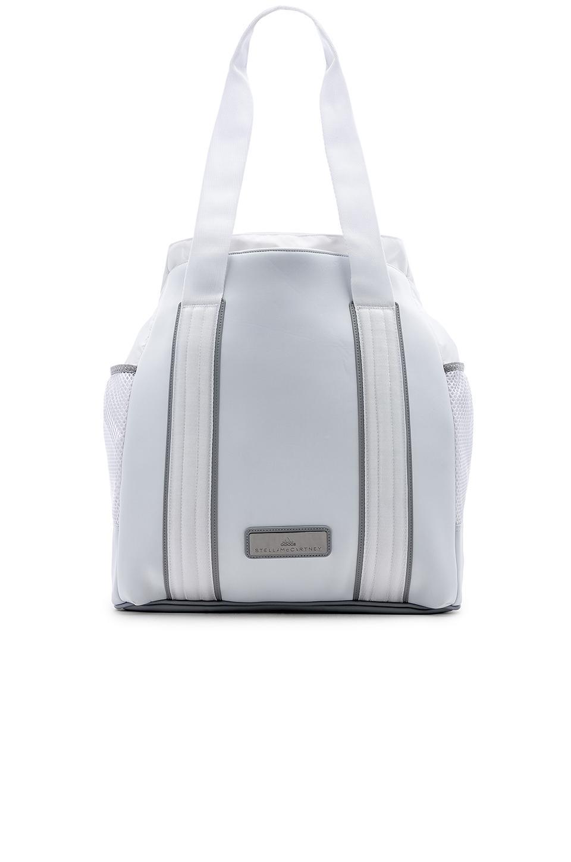 630f5ae851 Adidas By Stella Mccartney Tennis Bag In White Mid Grey Gunmetal ...