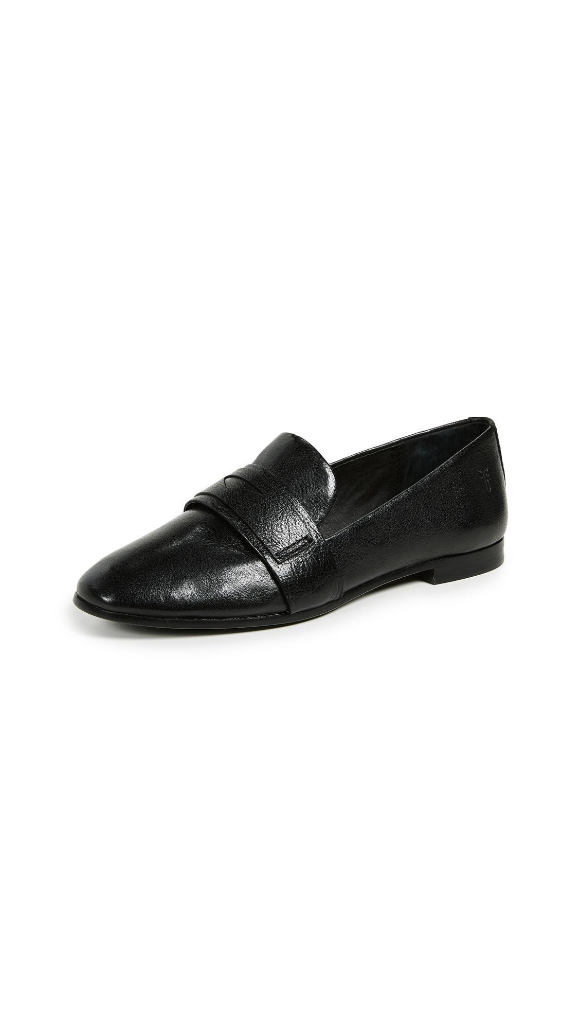 6a851481935 Frye Terri Penny Loafers In Black
