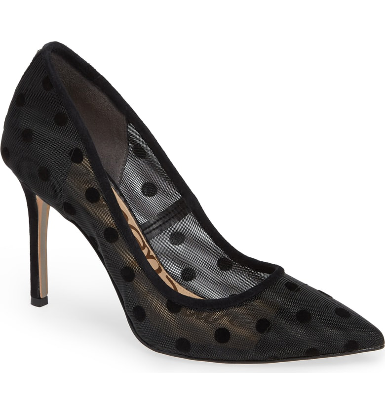 9606f66de453 Sam Edelman Hazel Pointy Toe Pump In Black