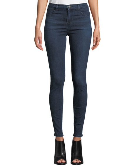 J Brand Maria High-Rise Sustainable Skinny Jeans In Commit