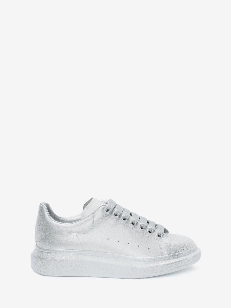 23a2900f331a Alexander Mcqueen Oversized Sneaker In White/Silver | ModeSens