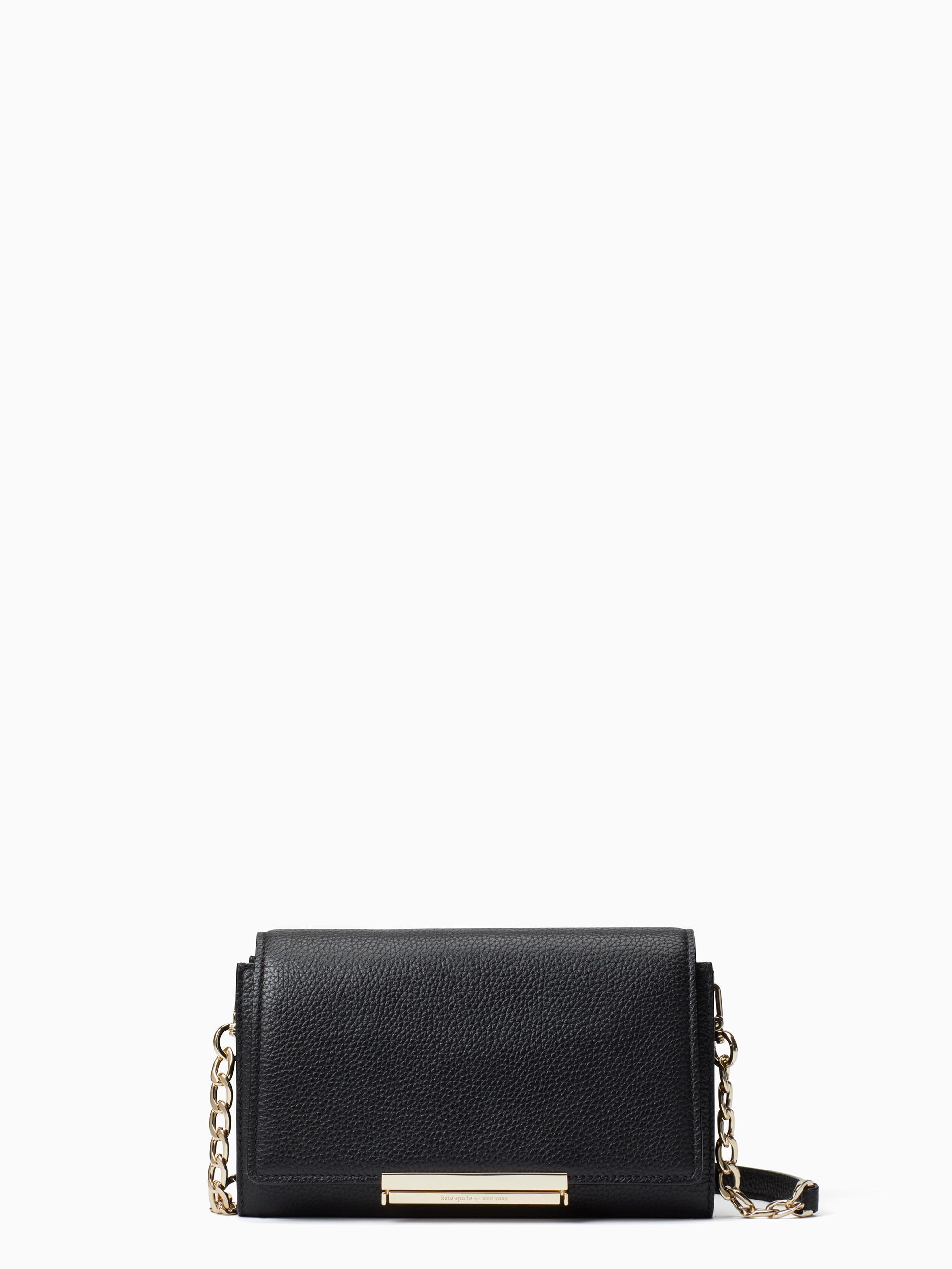 Kate Spade Make It Mine Soft-Leather Camila In Black