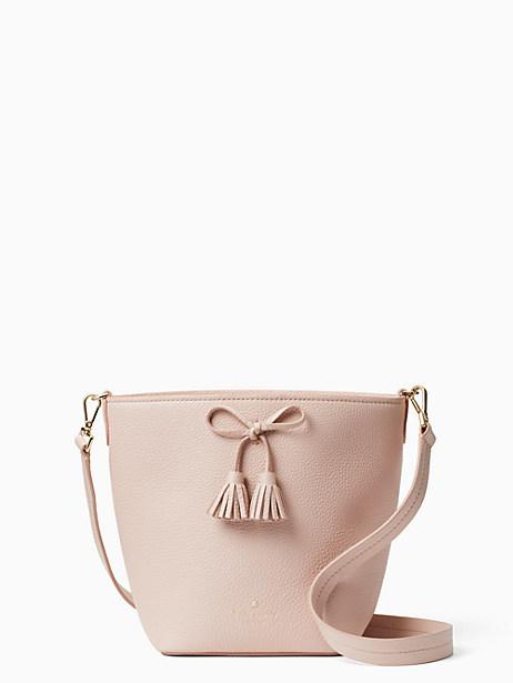 Kate Spade Hayes Street - Vanessa Leather Shoulder Bag - Pink In Warm Vellum