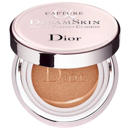 Dior Capture Dreamskin Fresh & Perfect Cushion Broad Spectrum Spf 50 025 Apricot Beige 0.5 Oz/ 15 G
