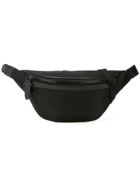 Neil Barrett Zipped Waist Bag In Black