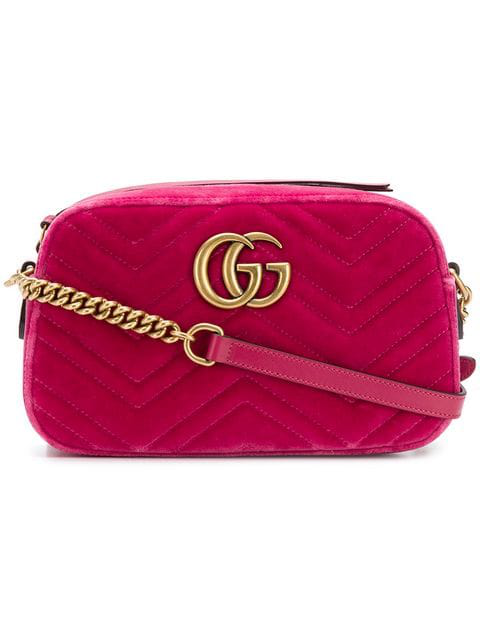 Gucci Gg Marmont Crossbody-Bag In 5532 Pink