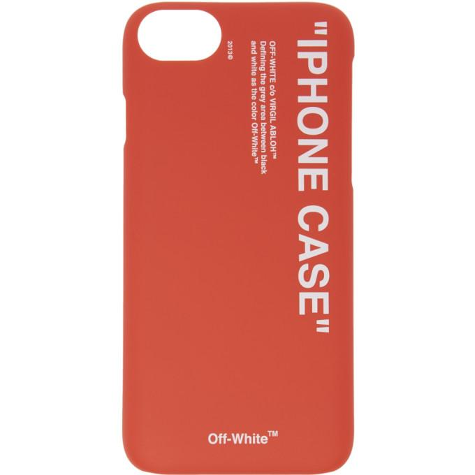 c6ce055a4d23 Off-White Red Quote Iphone X Case