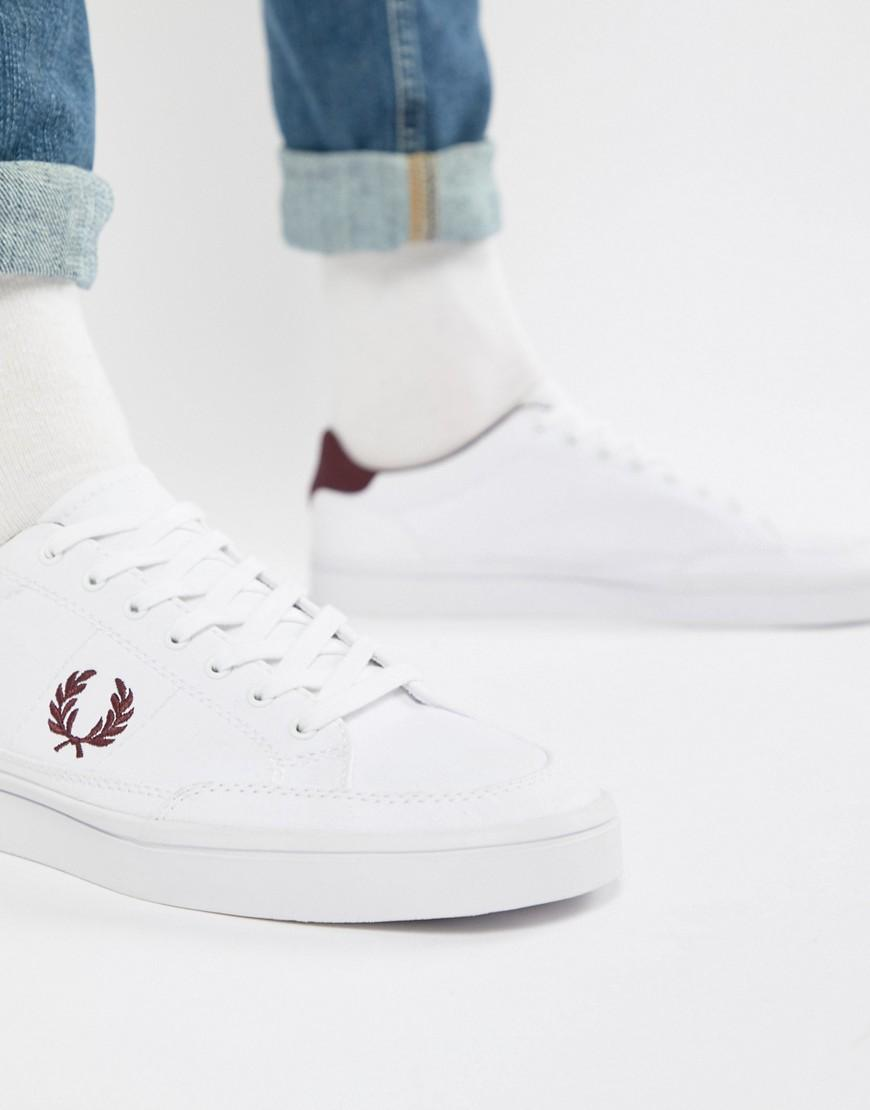e68a14aa270d1 Deuce Canvas Sneakers In White - White