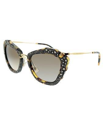 c6f6e28f54 Miu Miu Women s Cat-Eye 55Mm Sunglasses In Nocolor