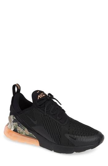 Air Max 270 Sneaker in Black Sunset Tint Khaki