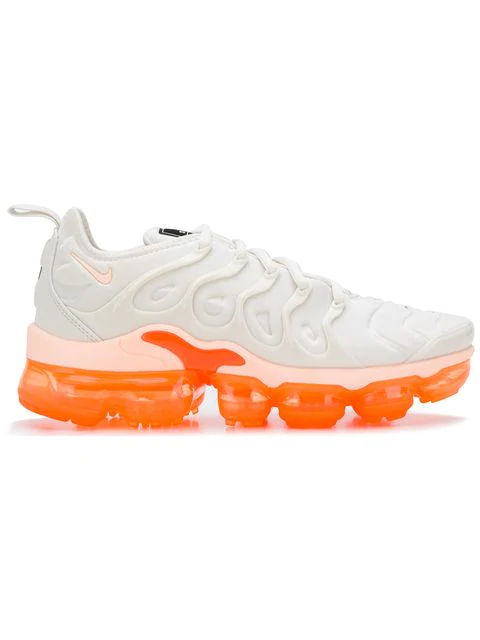 49a268fc64 Nike Women's Air Vapormax Plus Casual Shoes, Orange In White | ModeSens