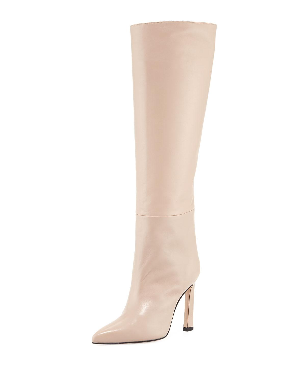 Emiline leather knee boots