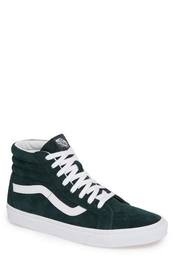 8822845668 Vans Sk8-Hi Reissue High Top Sneaker In Green