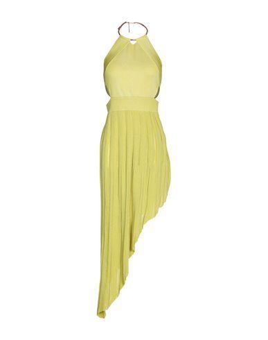 Issa Short Dress In Acid Green