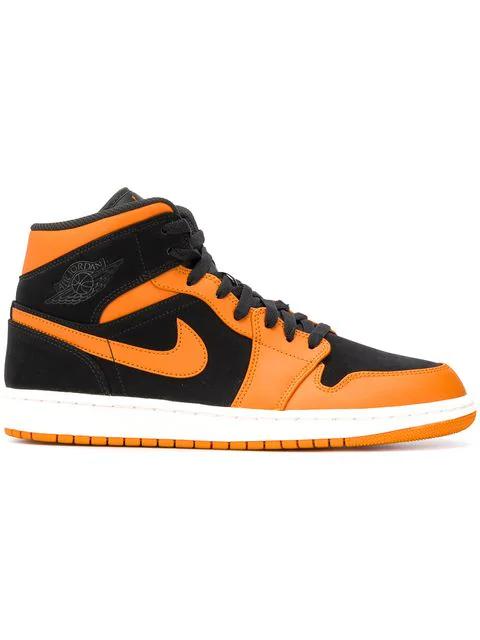 0c9d6599e373 Nike Side Logo Sneakers - Black