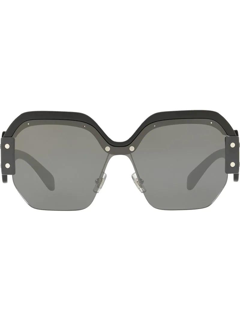 4b5f402a3b5 Miu Miu Eyewear Sorbet Oversized Sunglasses - Black
