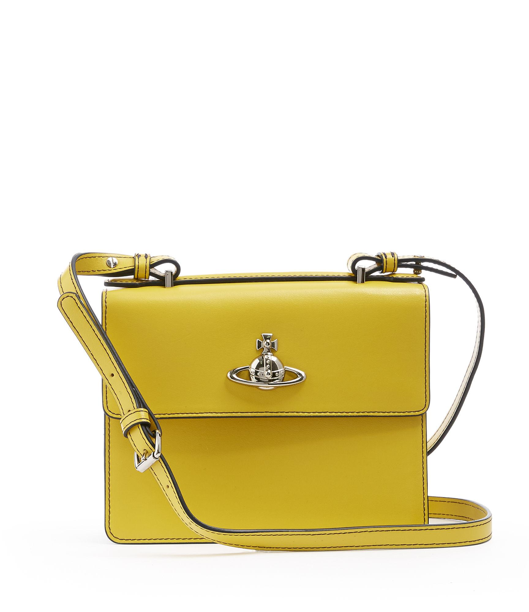 03c8420b91be Vivienne Westwood Matilda Medium Shoulder Bag Yellow | ModeSens