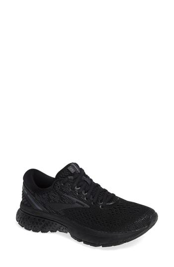 85d07125dd737 Brooks Ghost 11 Running Shoe In Black  Ebony