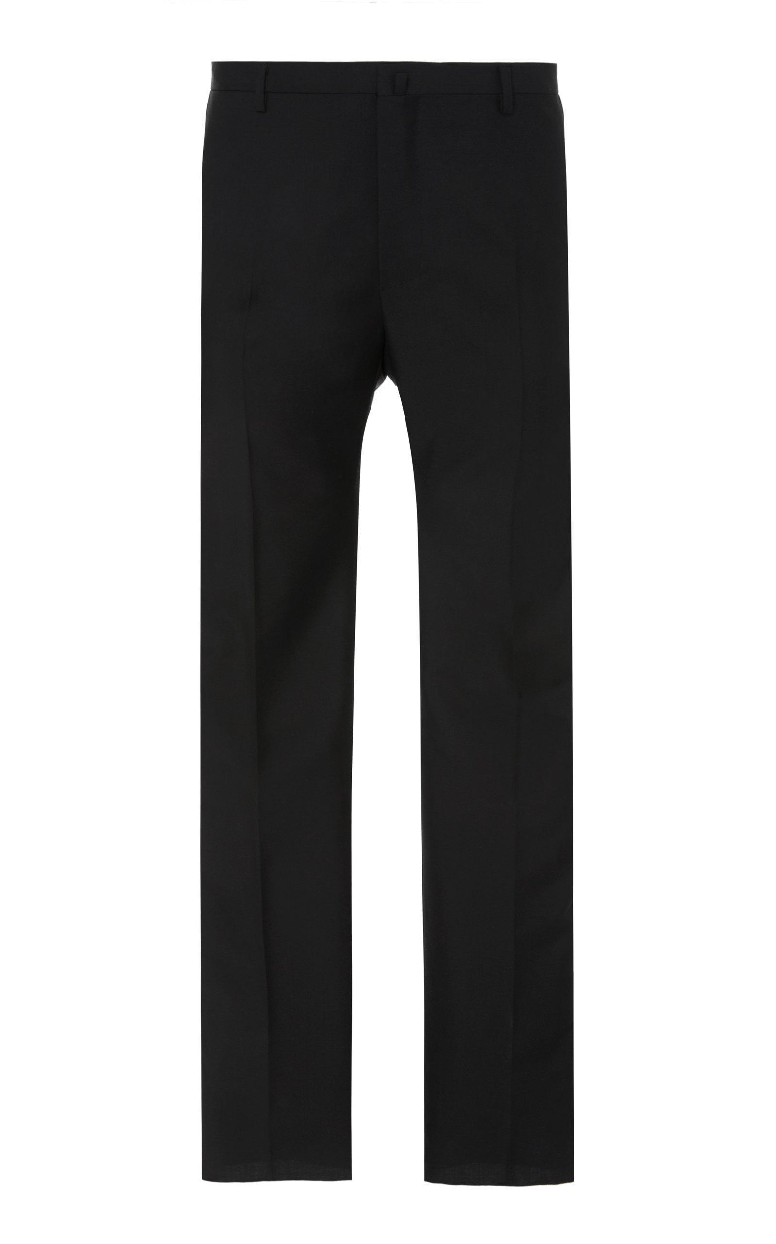 7525914f1e2 Lanvin Evening Wool And Mohair-Blend Pants In Black