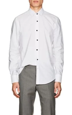 Lanvin Cotton-Poplin Shirt In White