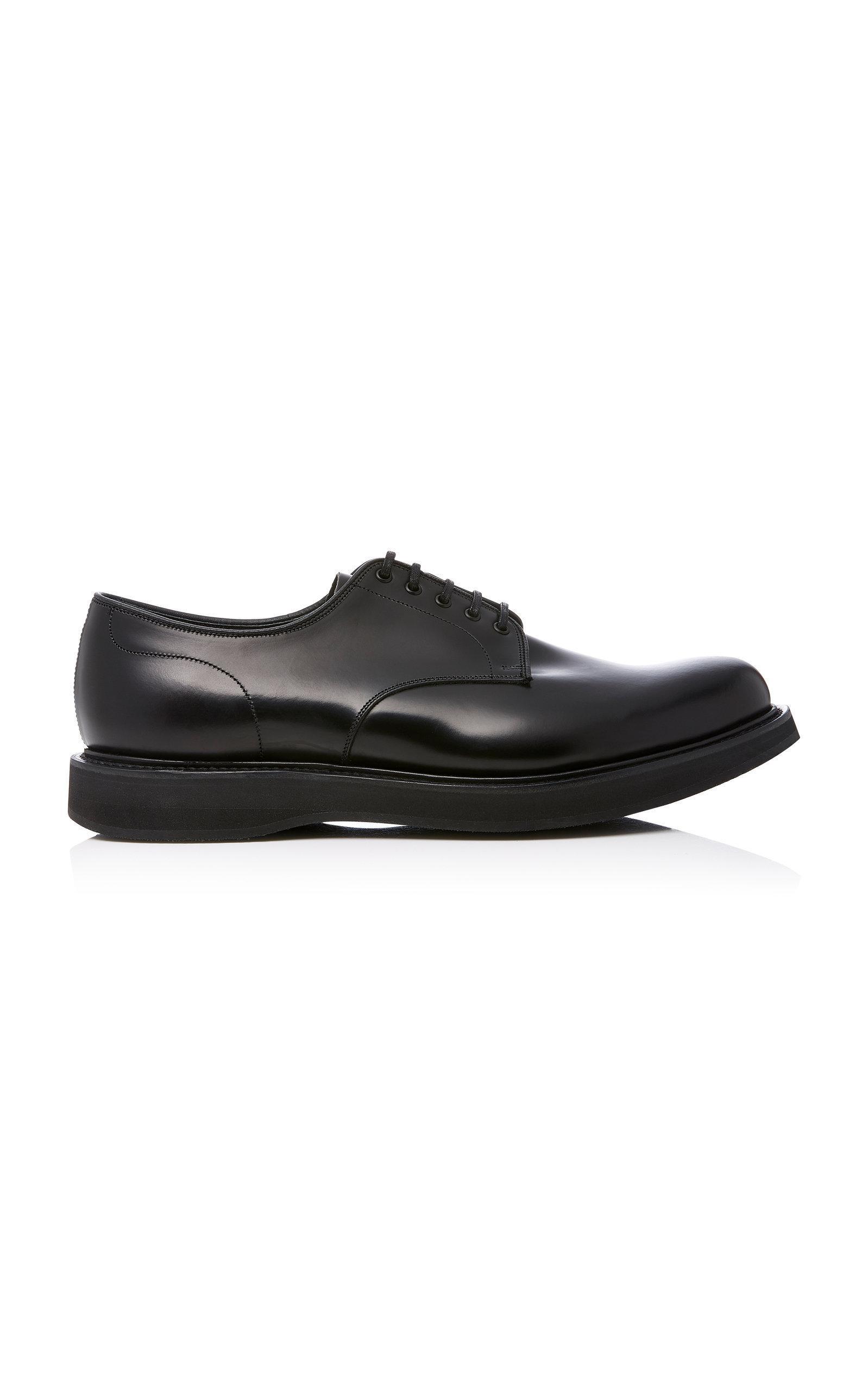 96329fff187eb0 Church s Leyton Leather Derby Shoes In Black