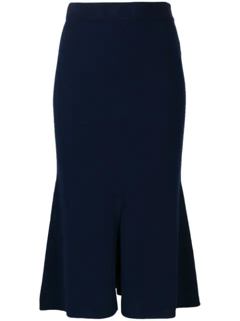 Cashmere In Love Tish Skirt In Blue
