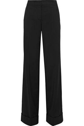 Derek Lam Woman Crepe Wide-leg Pants Black