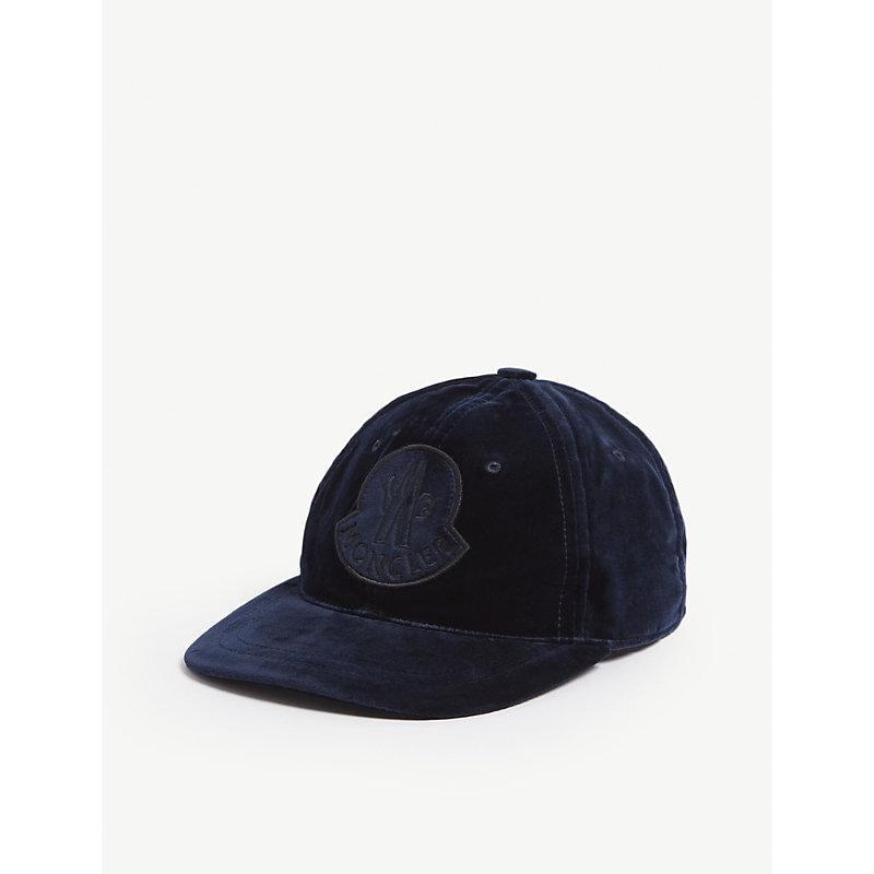 44cb591d9 BERRETTO VELVET COTTON CAP