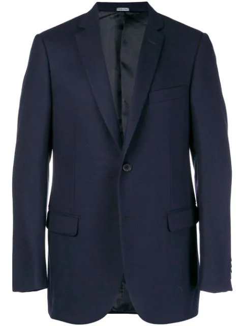 Lanvin Relaxed Fit Blazer In Blue