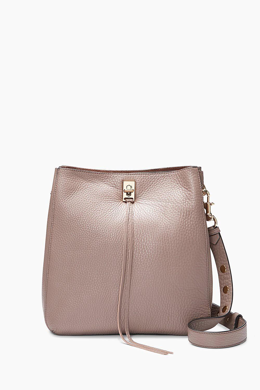 ae2a61a75b90 Rebecca Minkoff Darren Shoulder Bag In Mink