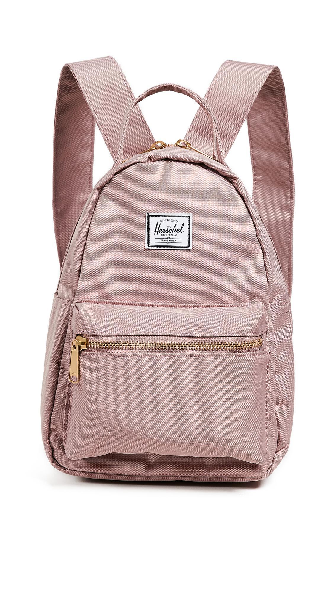 650375cf258 Herschel Supply Co. Nova Mini Backpack In Ash Rose