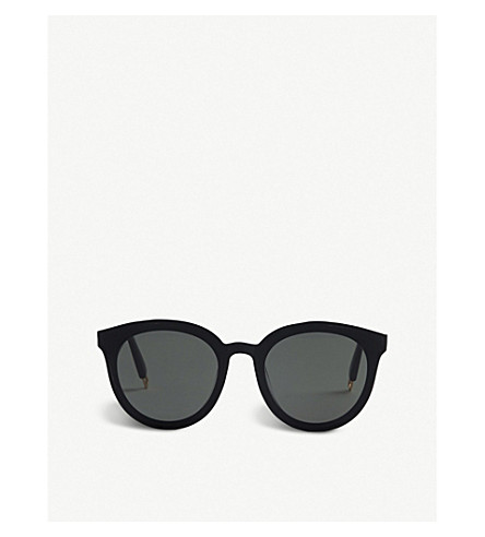 Gentle Monster Black Peter Acetate Sunglasses In Multi-Coloured