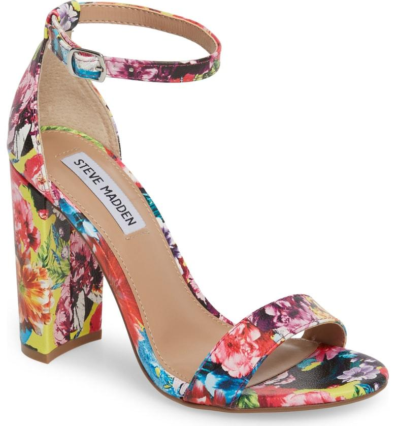 71140beab14 Steve Madden Carrson Sandal In Flower Multi