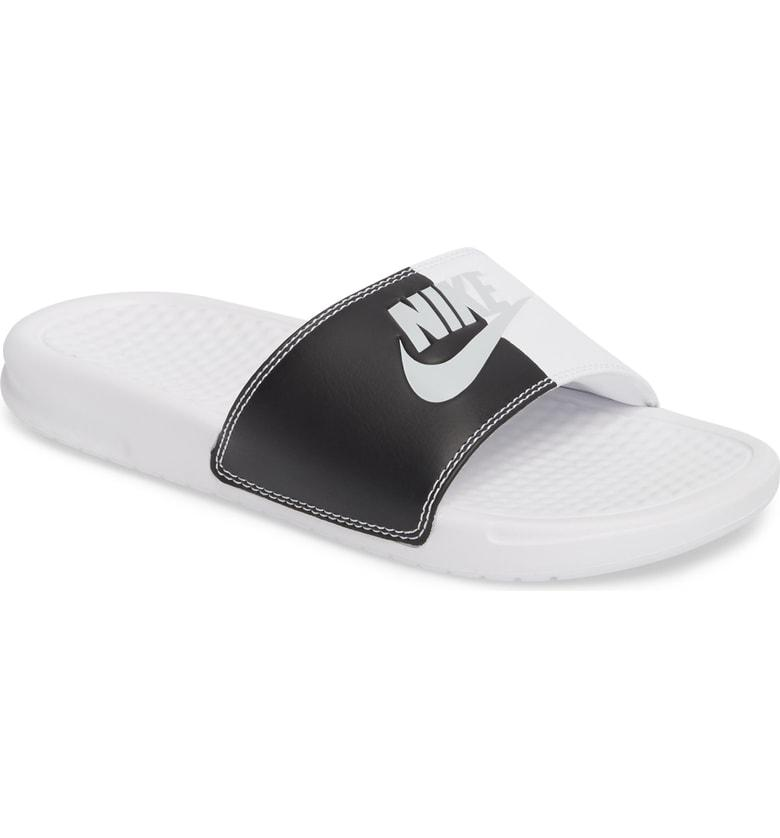 dd1f4a349773 A nubby contoured footbed brings invigorating comfort to every step in this  ultra-lightweight slide sandal styled with added cushioning under the  bridge ...