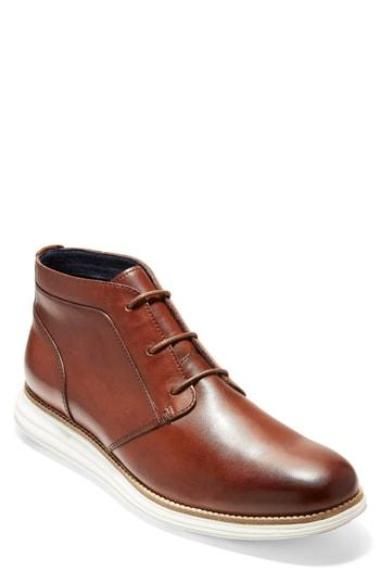 ca085becb5b96 Cole Haan Men s Original Grand Leather Chukka Boots In Woodbury  Ivory