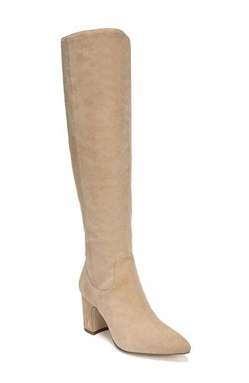 a706dfc228cfe Sam Edelman Hai Knee High Boot In Golden Caramel Suede