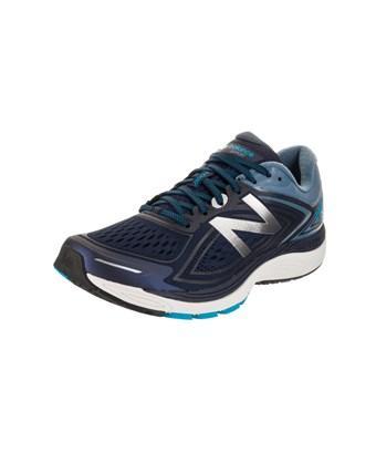 New Balance Men's 860V8 Running Shoe In Pigment/Deep Porcelain Blue
