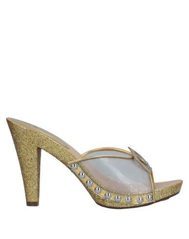 Marc By Marc Jacobs Mules In Gold