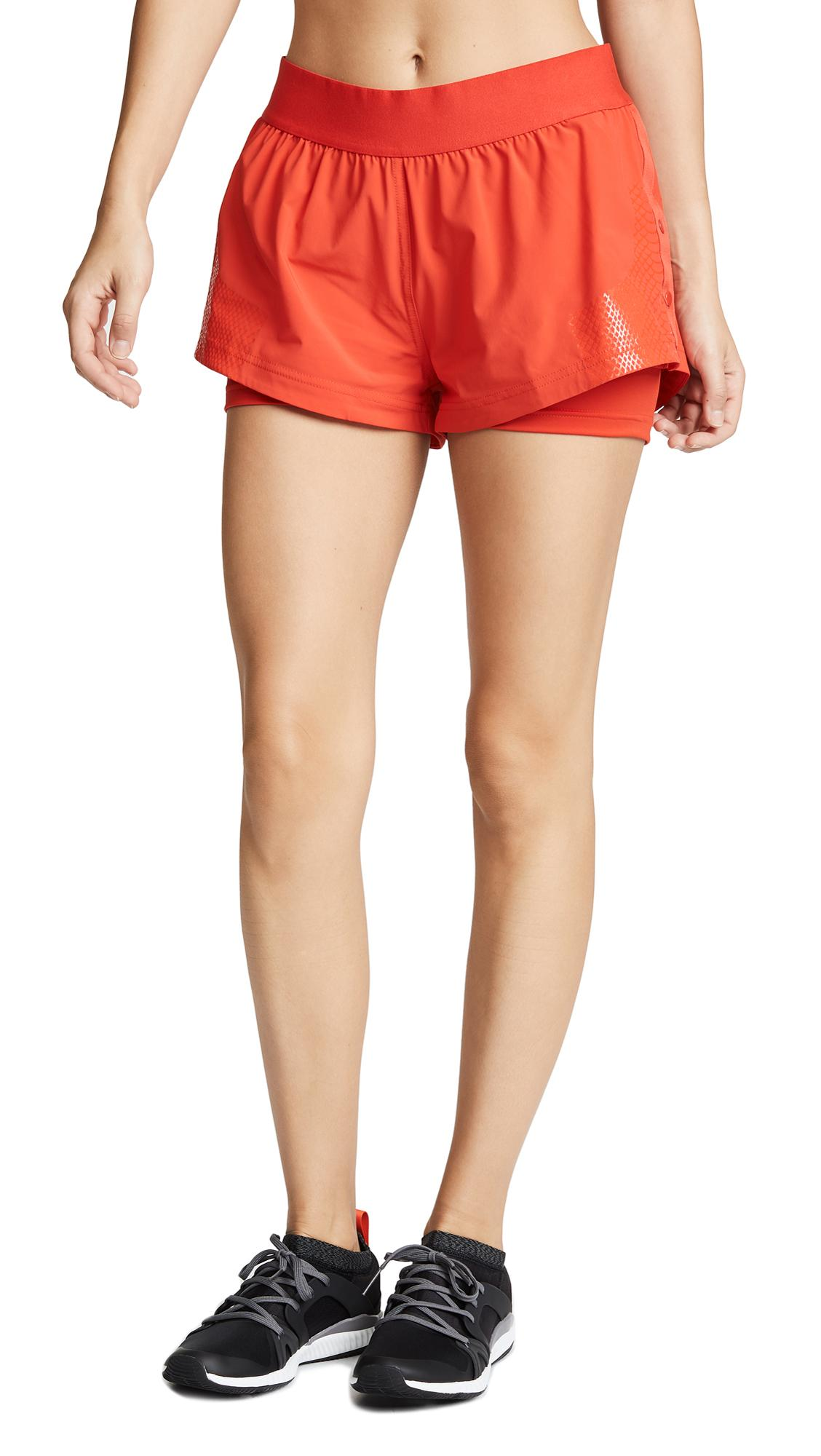 1295d6914 Adidas By Stella Mccartney Training Shorts In Core Red | ModeSens